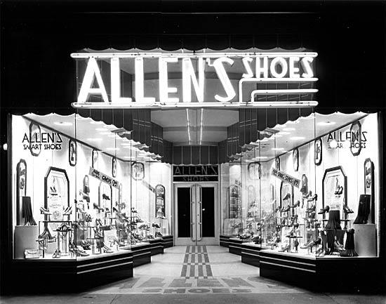 Houston deco 1930s allen 39 s shoes for Art deco online shop